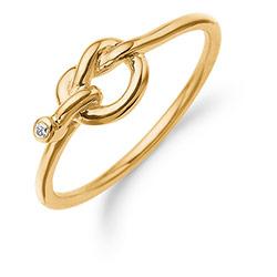 bbf6922f974 Billige guldringe til kvinder og mænd - med og uden ædelsten